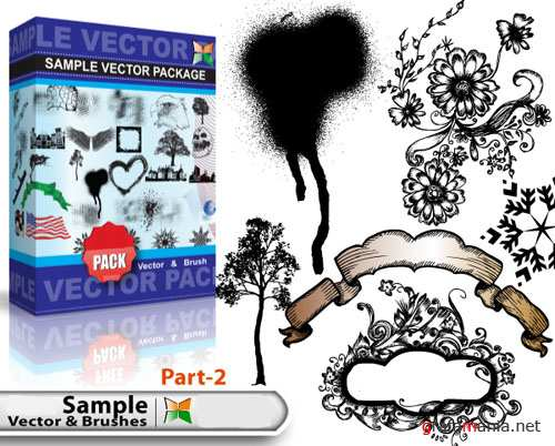 Sample Vector and Brushes Pack #2