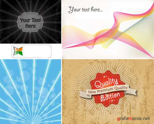 Quality Edition Vector Backgrounds