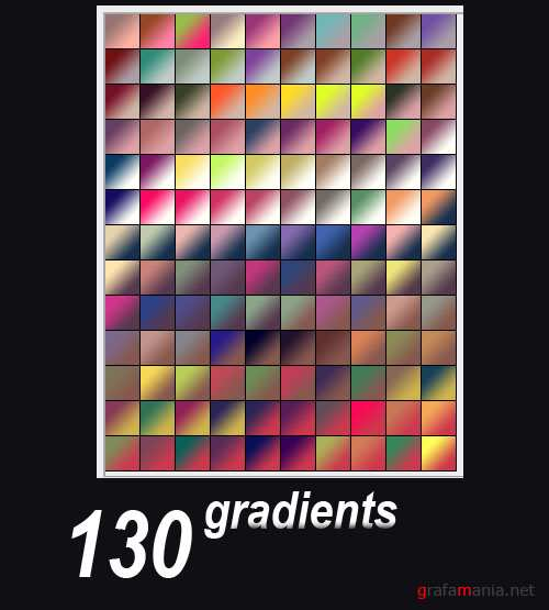 130 Photoshop Gradients