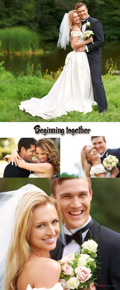 Stock Photo: Beginning together