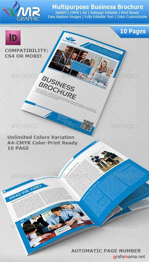 GraphicRiver 10 Page Multipurpose Business Brochure