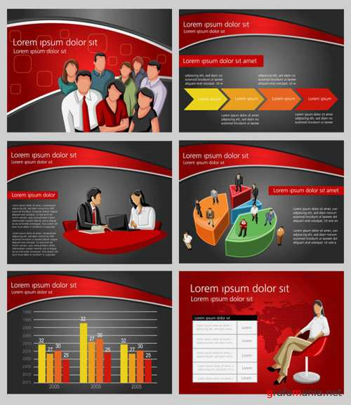 Business Financial Vector Background
