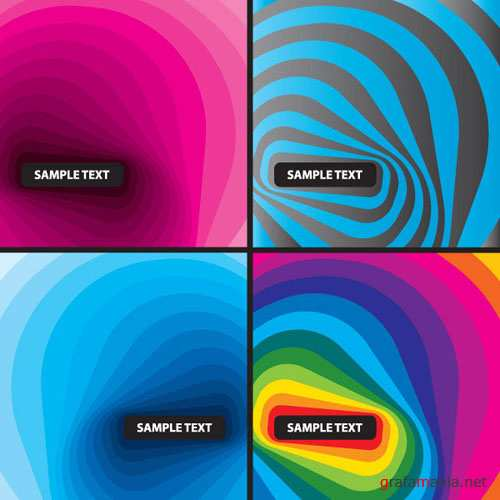 Colorful Wave Vector Backgrounds