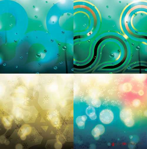 Rainbow Abstract Vector Background