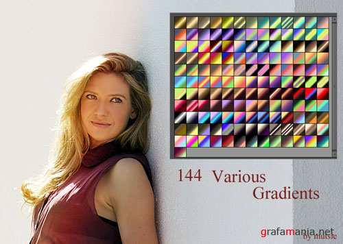 Various Photoshop Gradients #1