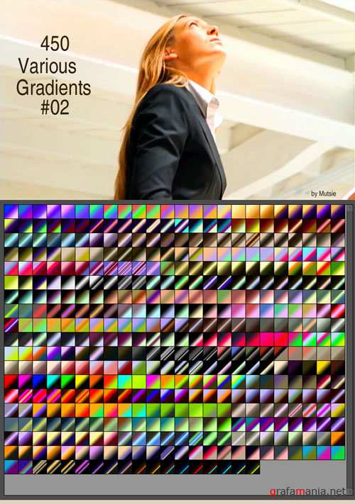 Various Photoshop Gradients #2