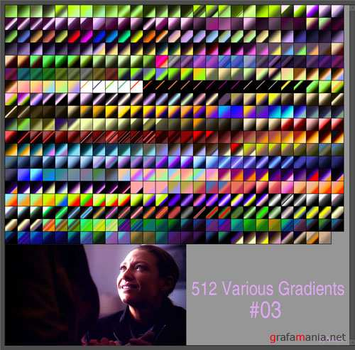 Various Photoshop Gradients #3