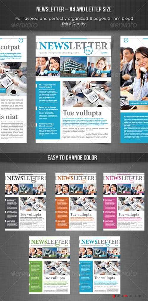 GraphicRiver Newsletter vol. 3 - Indesign Template