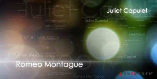 Romeo & Juliet - After Effects Project (Videohive)
