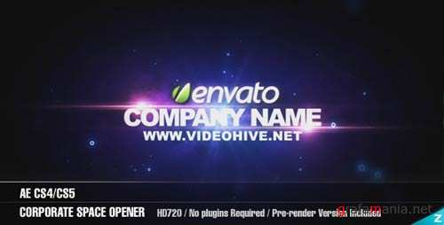 AE Corporate Space Opener - After Effects Project (Videohive)