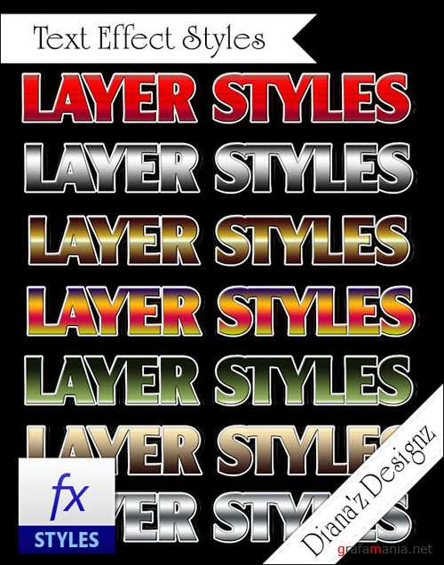 Text Effect Photoshop Layer Styles