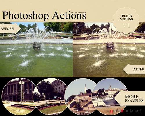 Colourful Photoshop Actions v1