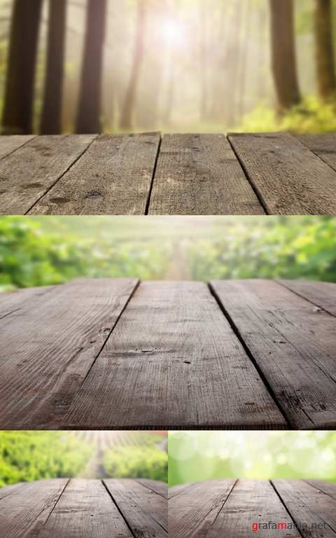 Wooden Empty Table