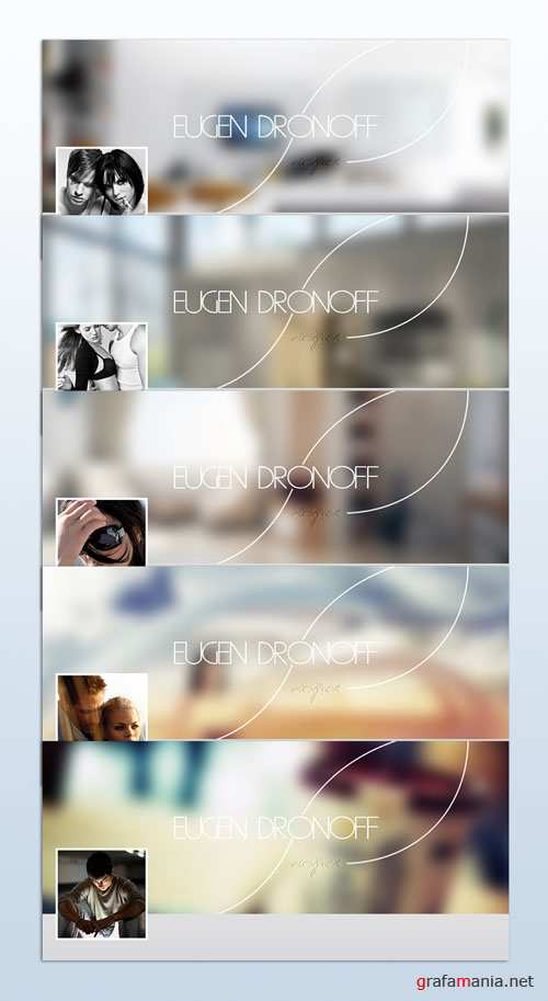 Facebook ID Cover PSD Template