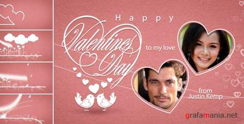 Classic Valentines E-Card - After Effects Project (VideoHive)