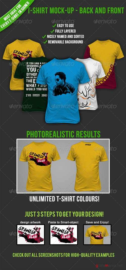 GraphicRiver T-Shirt Mock-up