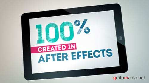 Simple Tablet - After Effects Project (VideoHive)