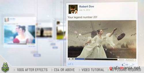 Timeline Story - After Effects Project (VideoHive)