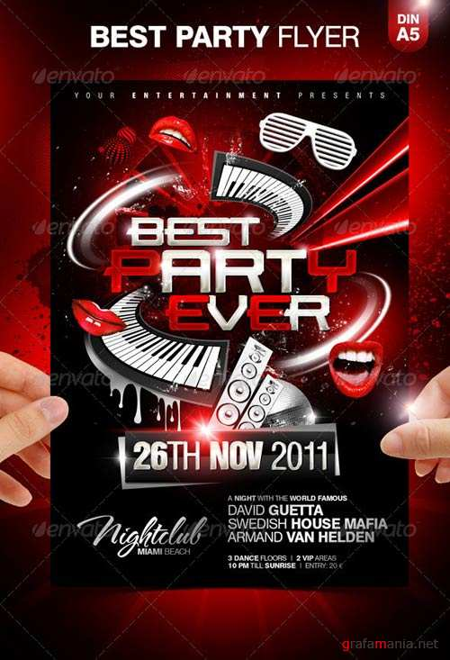GraphicRiver Best Party Ever Party Flyer Template