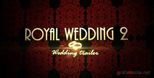Royal Wedding 2 - Wedding trailer - After Effects Project (Videohive)