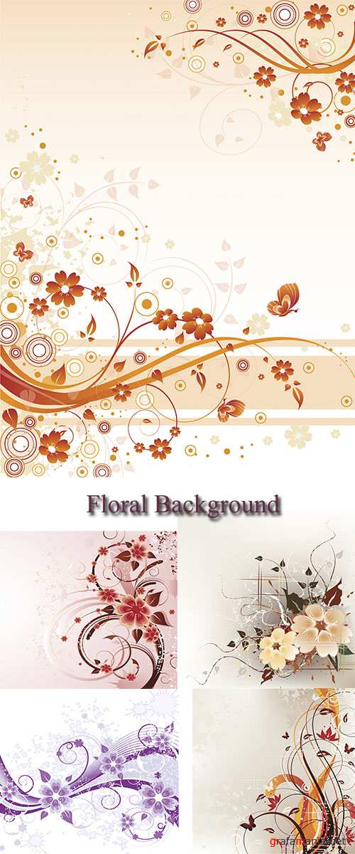Stock: Floral Background 13