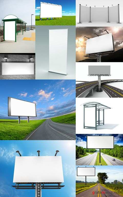 Advertising Stands and Billboards