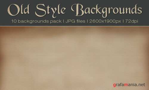 Old Styles Backgrounds