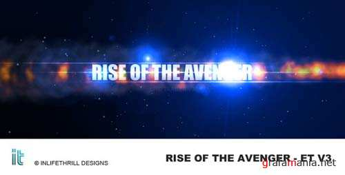 Rise of the avenger - Epic trailer v3 - After Effects Project (Videohive)