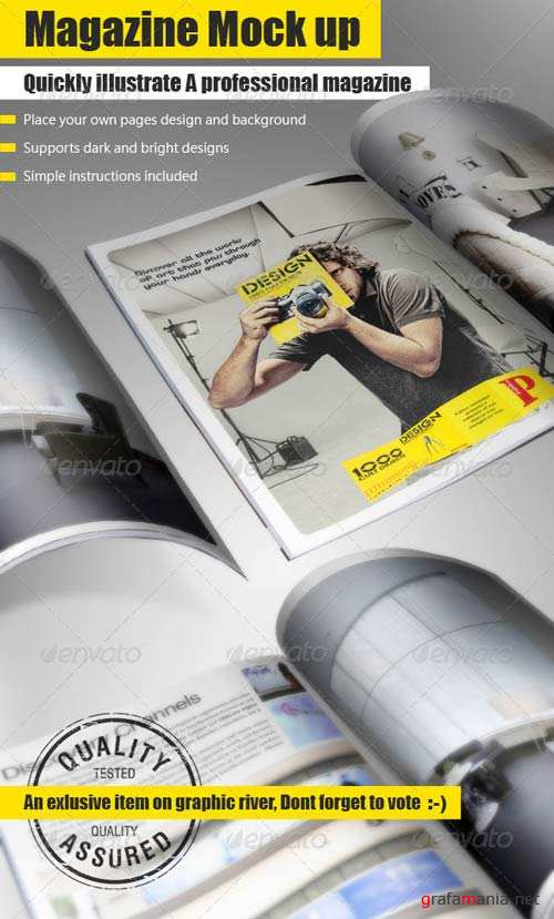 GraphicRiver Booklet Mock Up Tool