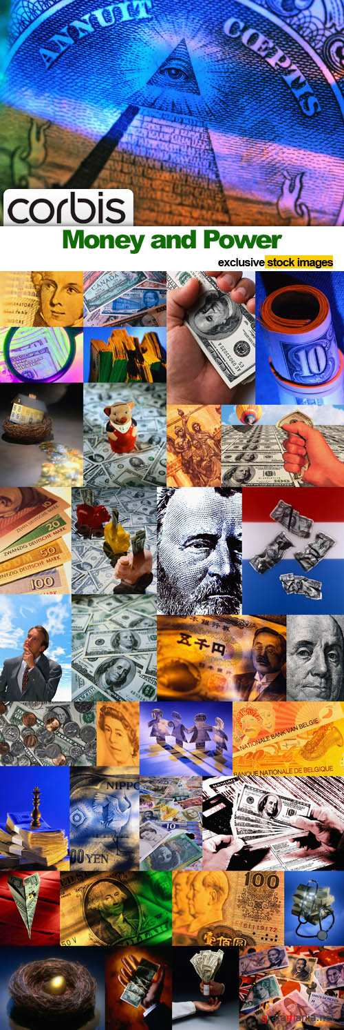 Money and Power - 100 HQ JPEG Images CORBIS