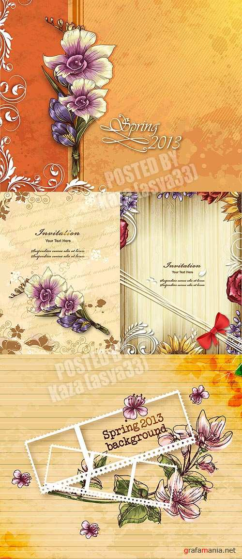Floral cards 15