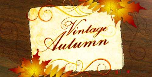 Vintage Autumn - After Effects Project (Videohive)
