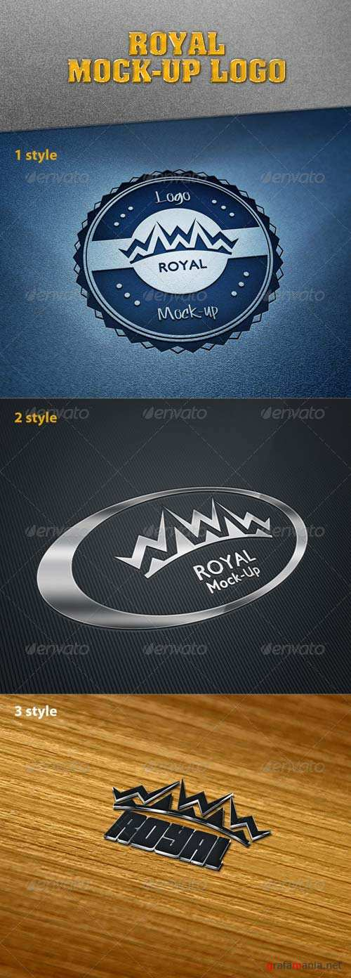 GraphicRiver Royal Mock-Up Logo