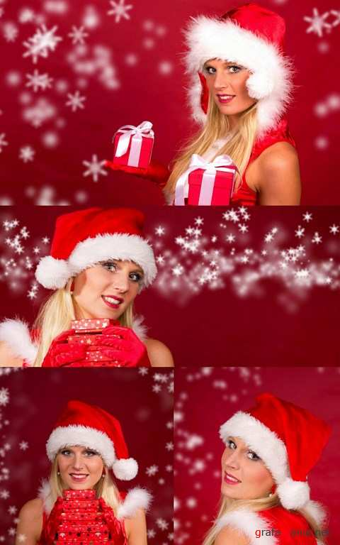 Shutterstock - Christmas Girl