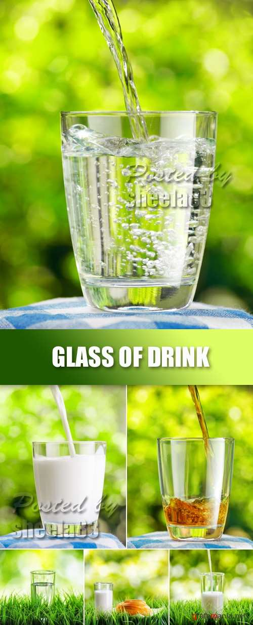 Stock Photo - Glass of Drink