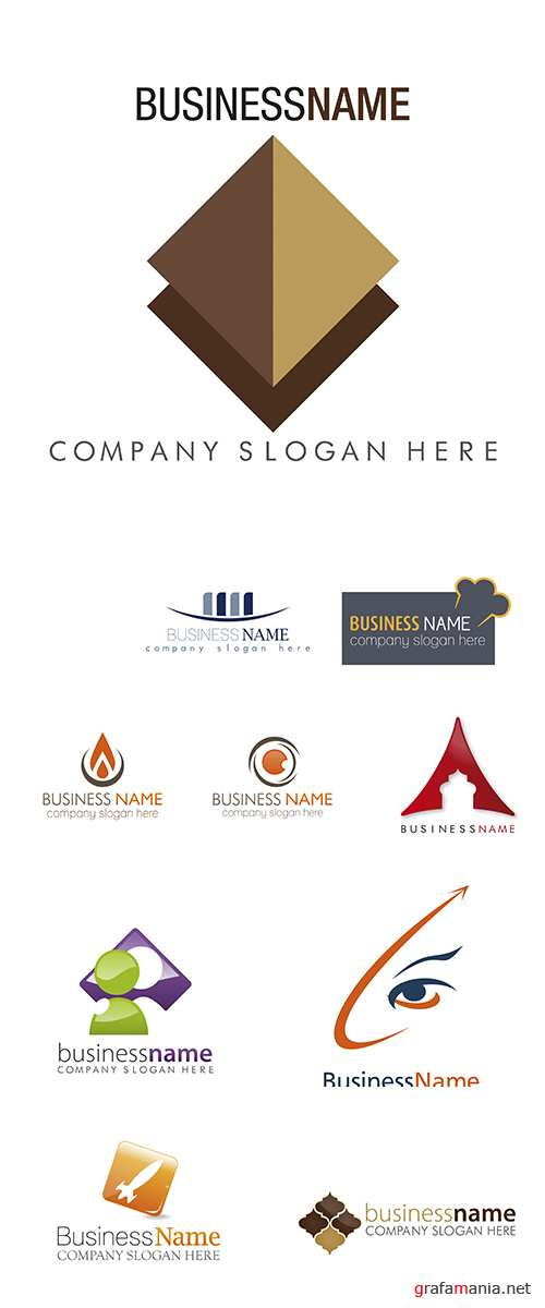 Stock: Logo vector business