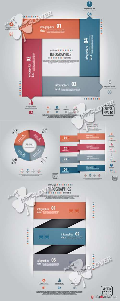 Infographics design elements 0411