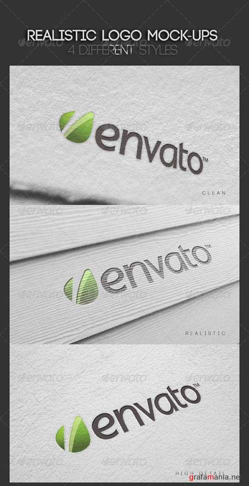 GraphicRiver Realistic Logo Mock-Ups Vol.1
