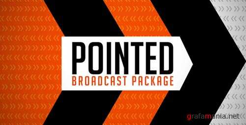 Pointed Broadcast Package - After Effects Project (Videohive)