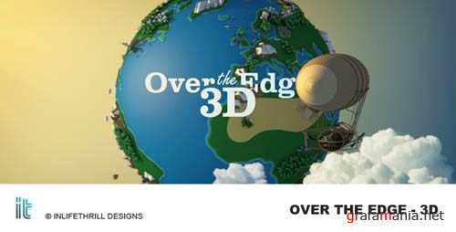 Over The Edge - 3D - After Effects Project (Videohive)