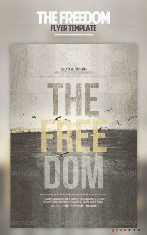 GraphicRiver The Freedom Flyer Template
