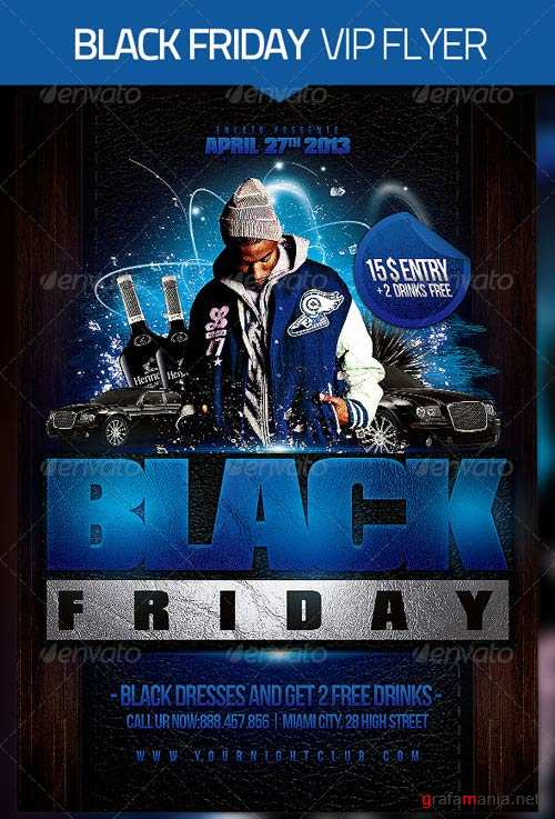 GraphicRiver Black Friday Flyer Template