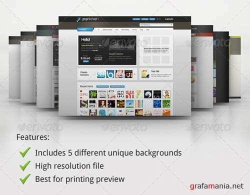 GraphicRiver Mock-up Master - Product Display Series 01