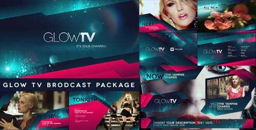 Glow TV Broadcast Package - After Effects Project (Videohive)