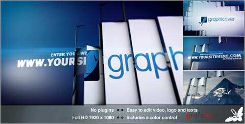 Tile Revolution Logo - After Effects Project (Videohive)