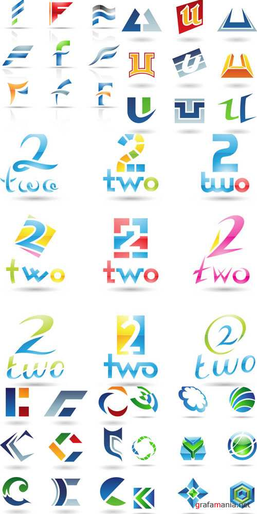 Elements for design and creation of logotypes #2