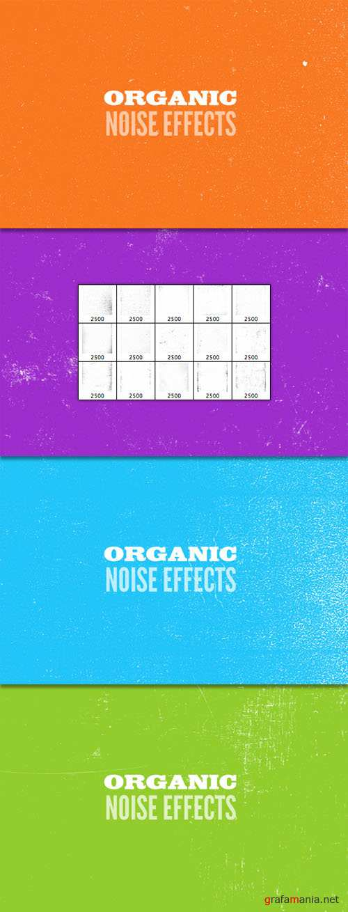WeGraphics - Organic Noise – Photoshop Brush Set