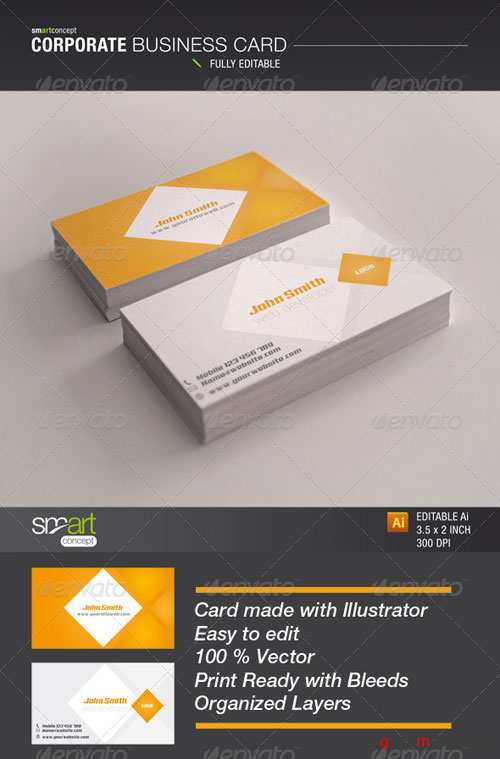 GraphicRiver Corporate Business Card