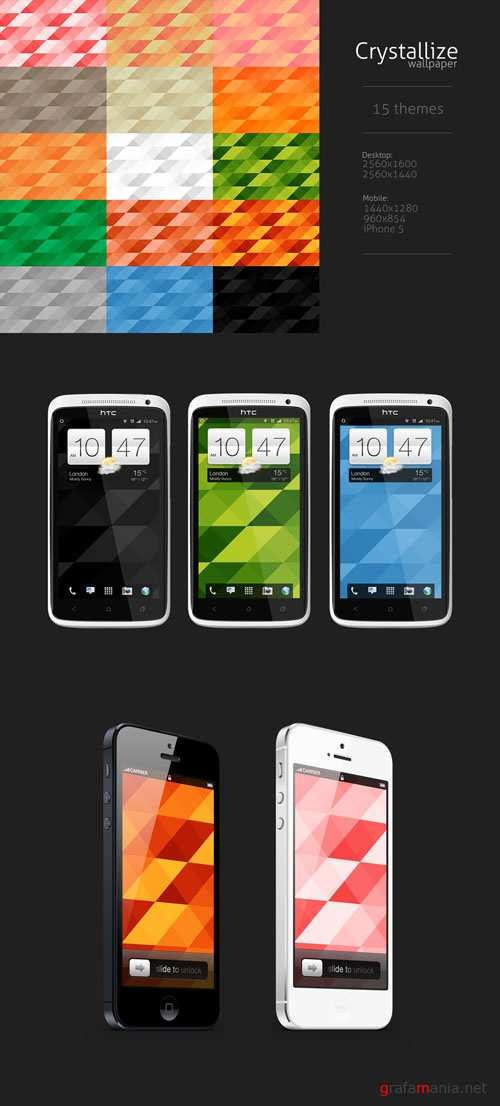 Crystallize Textures Pack