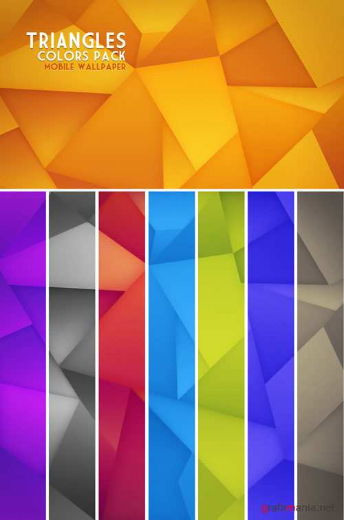 Color Triangles TexturesPack